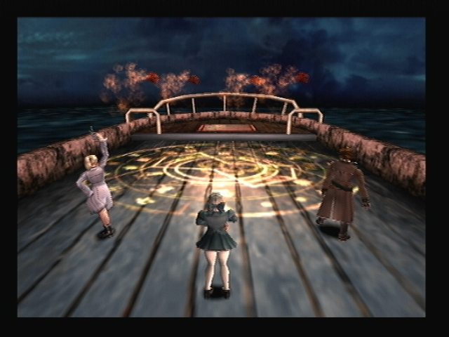 Pentagram Battle Smugglers Boat Shadow Hearts