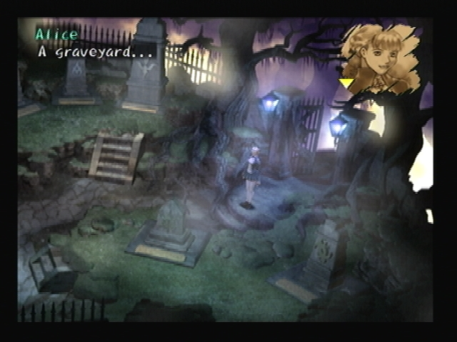 Alice graveyard Shadow Hearts