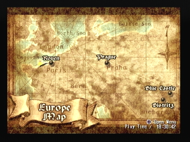 Prague map Shadow Hearts