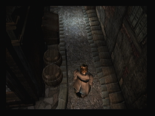 Alleyway Rouen Shadow Hearts