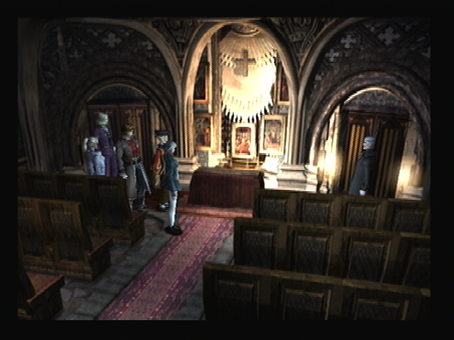 Church Altar Rouen Shadow Hearts
