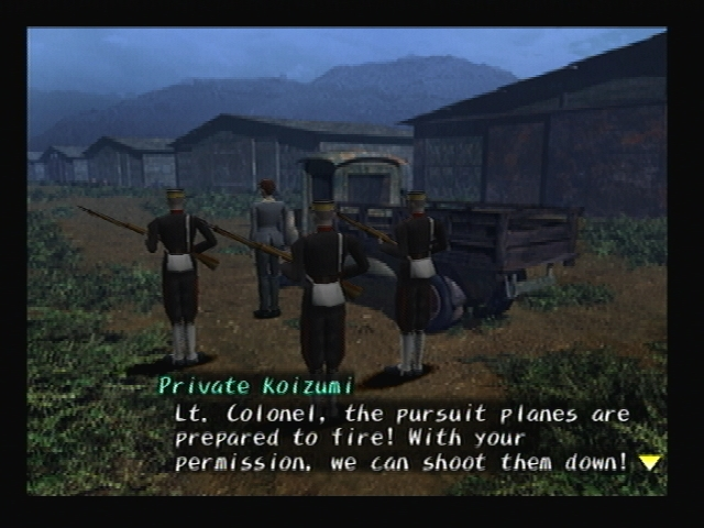 Japanese Imperial Army Fengtian Shadow Hearts