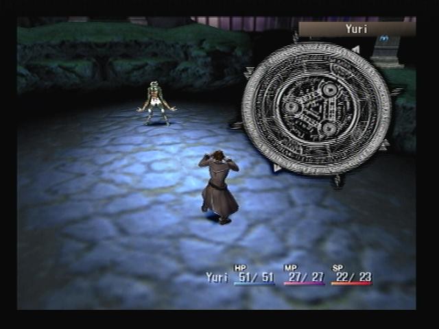 Yuri Fusion Battle Graveyard Shadow Hearts