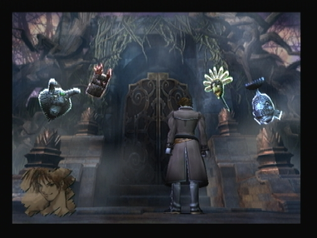 Four Masks Graveyard Shadow Hearts