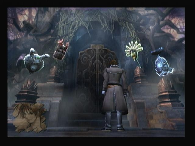 Four Masks Graveyard Shadow Hearts