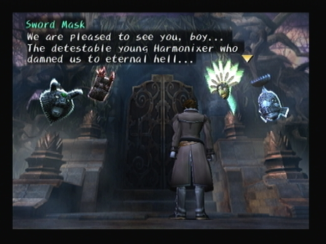 Four Masks Shadow Hearts