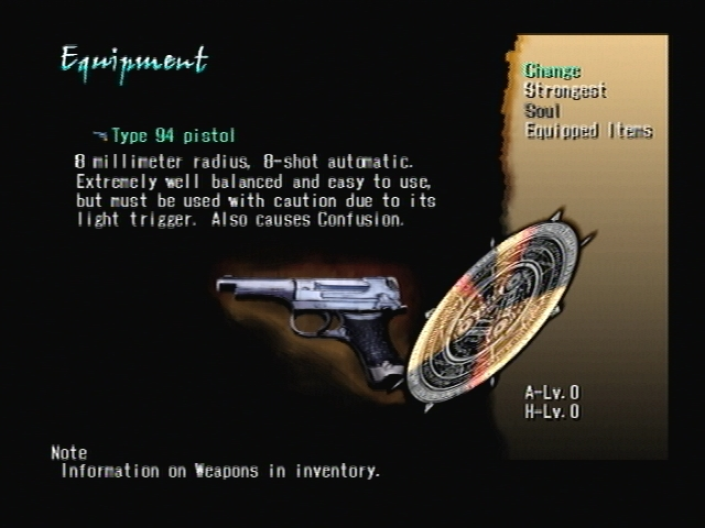 Margarete Weapn Judgment Ring Shadow Hearts