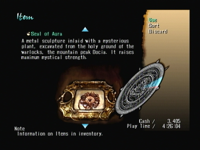 Item Judgment Ring Shadow Hearts