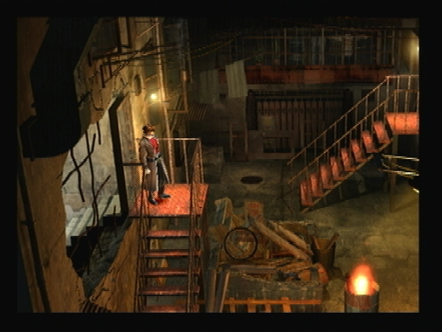 Kowloon Fortress Stairs Shadow Hearts