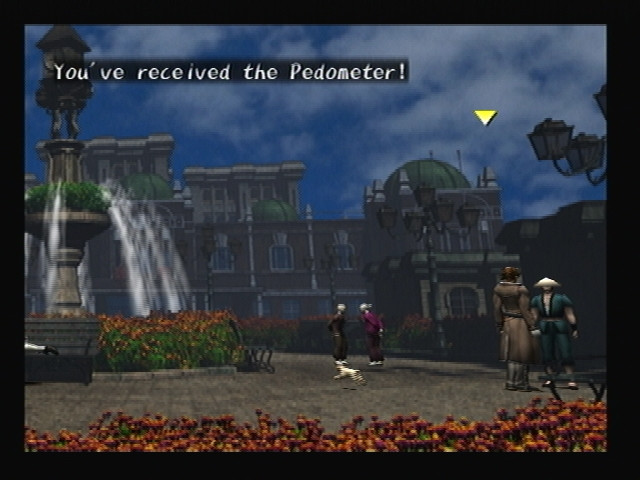 Pedometer Salesman Shadow Hearts