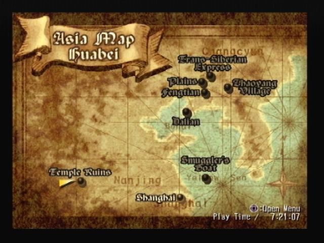 Temple Ruins Map Shadow Hearts