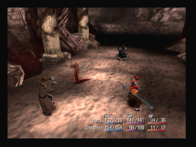 Battle Temple Ruins Shadow Hearts