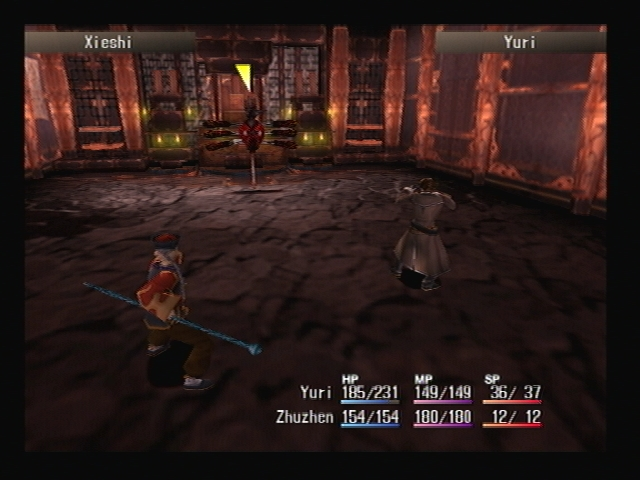 Boss Battle Temple Ruins Shadow Hearts