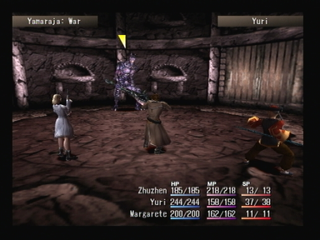 Samsara Pavilion Battle Ground Temple Ruins Shadow Hearts