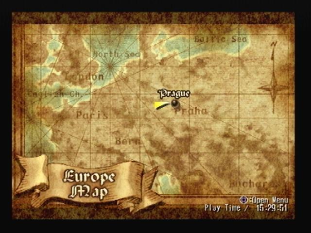 Prague Map Shadow Hearts