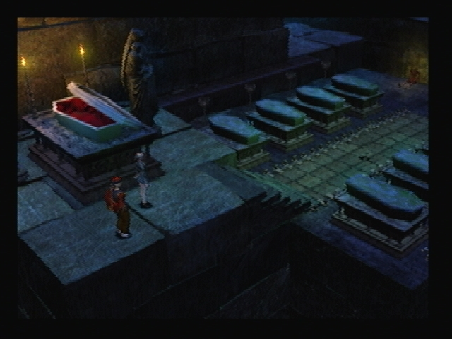 Coffins Blue castle Shadow Hearts
