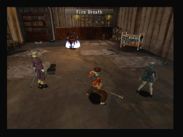 Tindalos Fire Breath Shadow Hearts