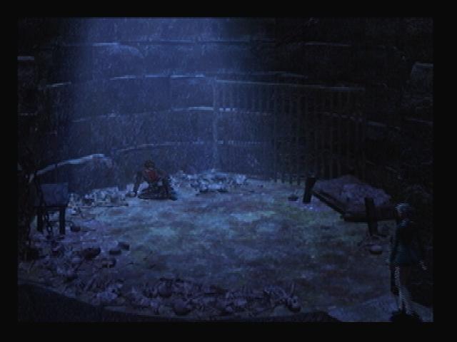 Yuri imprisoned Blue Castle Shadow Hearts