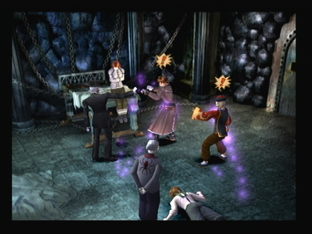 Calios Mental Hospital Shadow Hearts Dungeon