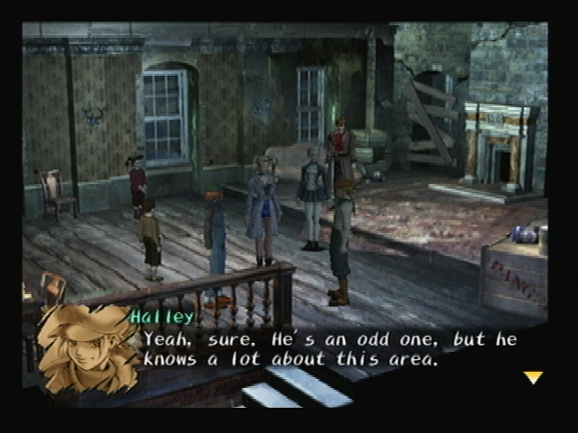 London Rats Hideout Shadow Hearts