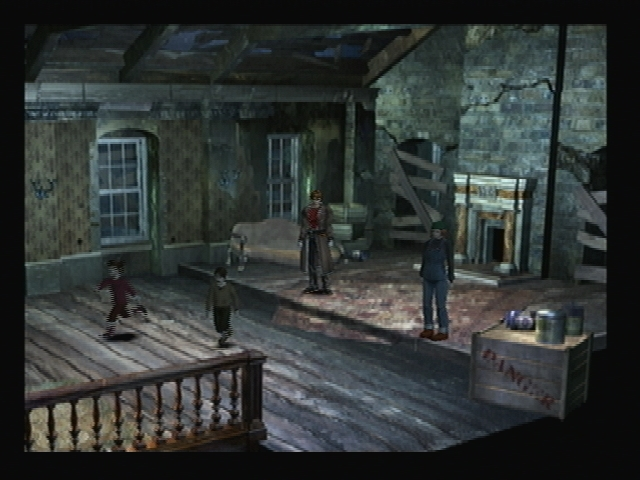 Attic London Rats Shadow Hearts