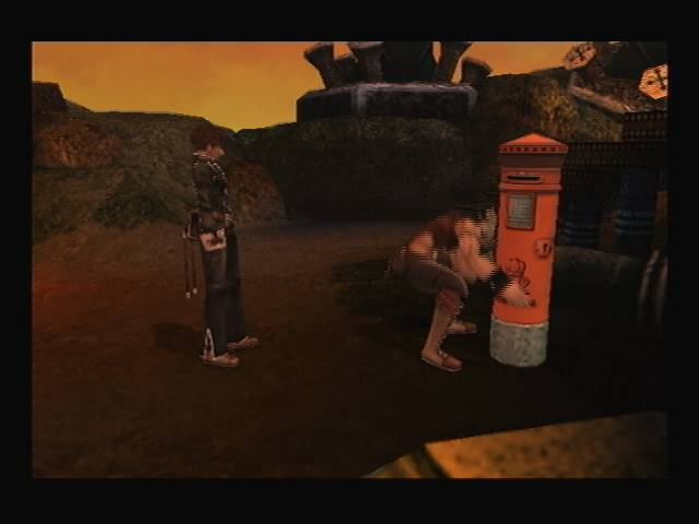 Nememton Monatery Shadow Hearts Covenant Postbox