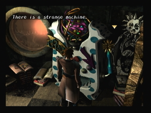 Roger's Vending Machine Shadow Hearts