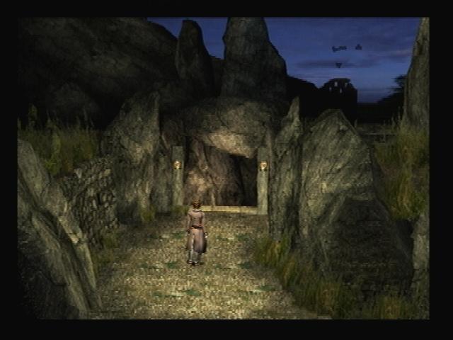 Ancient Ruins Exterior Shadow Hearts