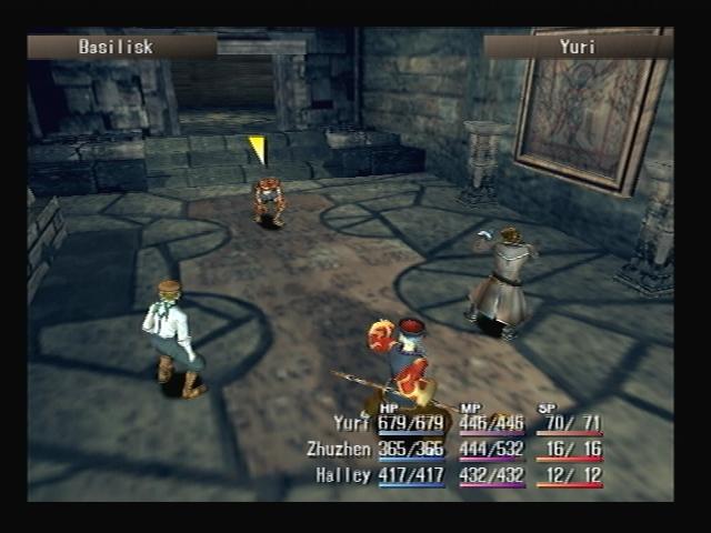 Ancient Ruins Battle Shadow Hearts