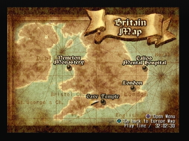Cave Temple Shadow Hearts Map