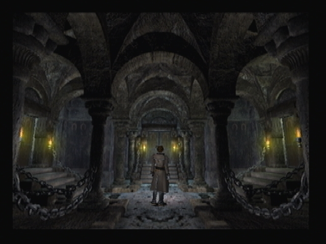 Cave Temple Interior Shadow Hearts