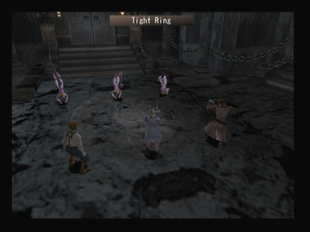 Battle Cave Temple Shadow Hearts