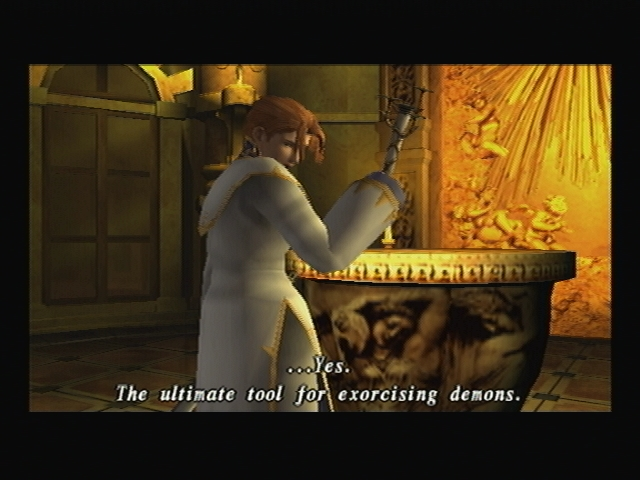 Nicolai Holy Mistletoe Shadow Hearts Covenant