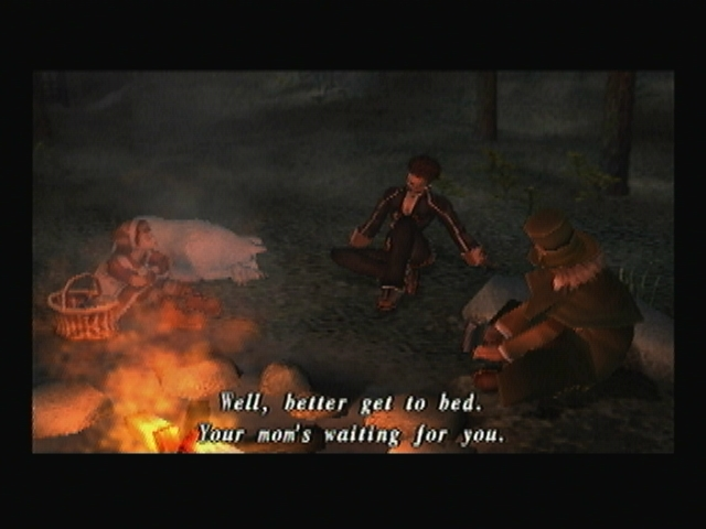 Jeanne Blanca Gepetto Yuri Campfire Shadow Hearts Covenant