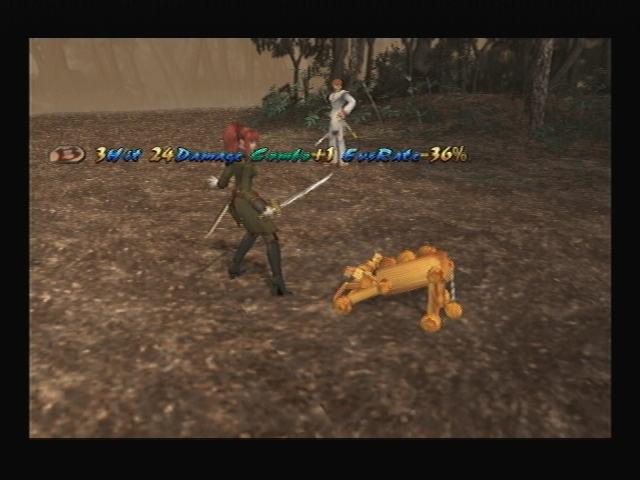 Wooden Lion Shadow Hearts Covenant Attack
