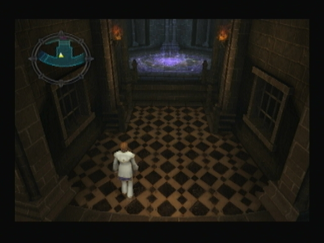 Apoina Tower tiled hall Shadow Hearts Covenant