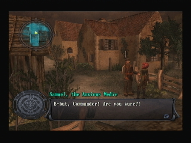 Domremy Entrance Shadow Hearts Covenant