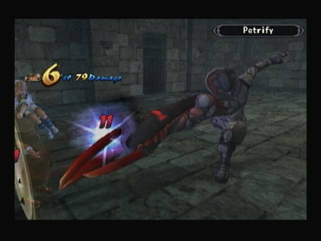 Petrify Godhand Shadow Hearts Covenant