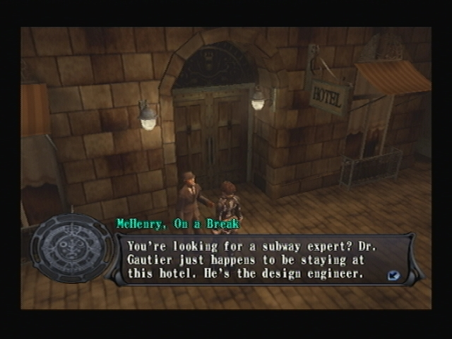 Hotel Paris Shadow Hearts Covenant