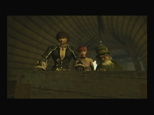 Mine Cart Chase SCene Paris Subway Shadow Hearts Covenant