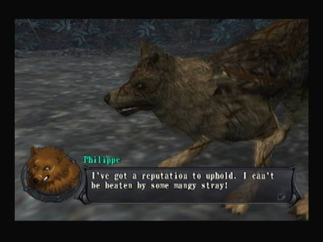 Philippe Shadow Hearts Covenant Wolf Bout