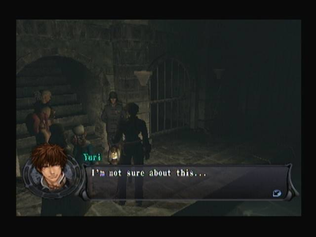 Gallery of the Dead Entrance Shadow Hearts Covenant